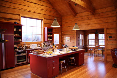 lodge kitchen 2